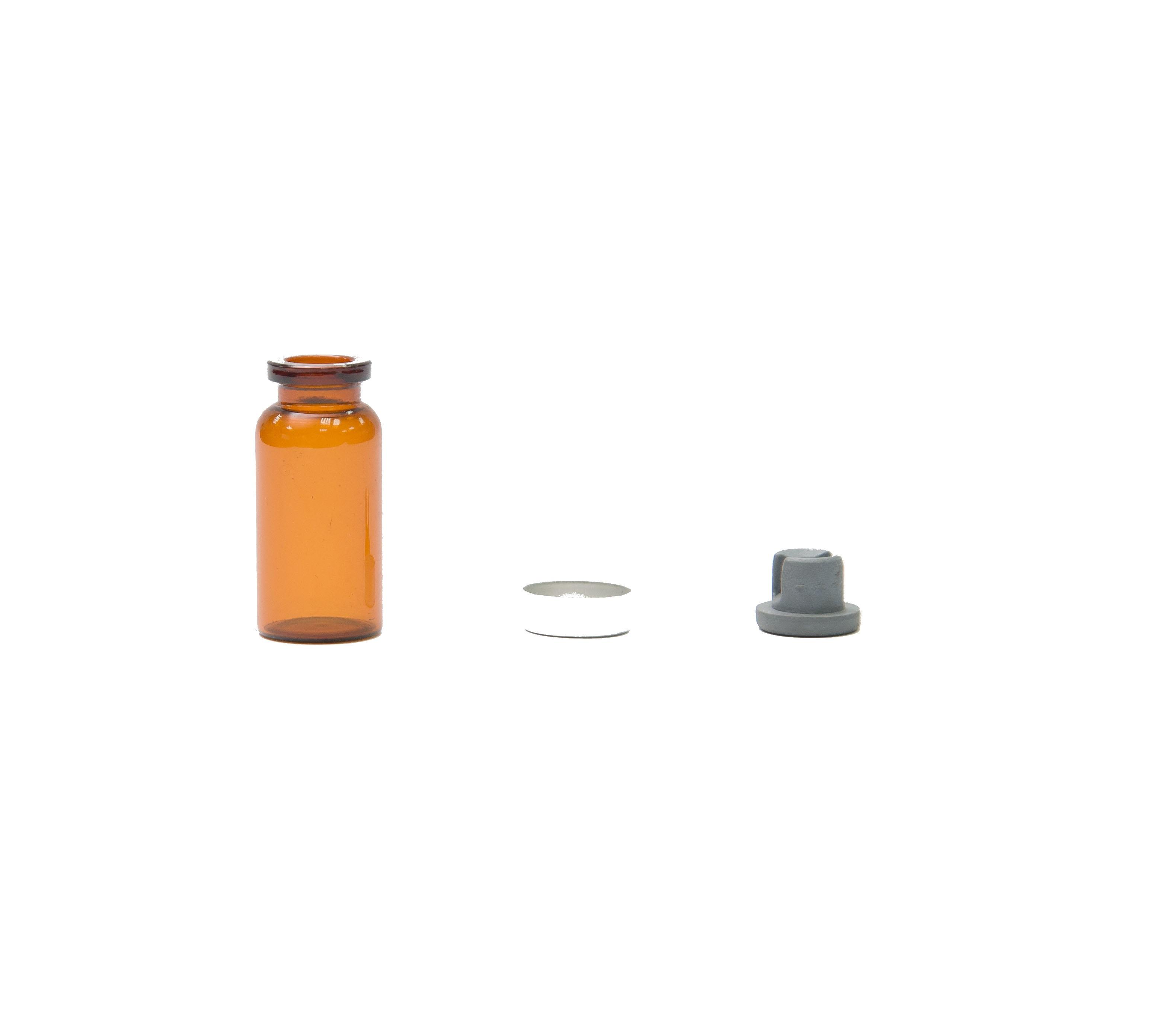 10C.C 西林瓶 附橡皮塞及鋁蓋產品圖-0