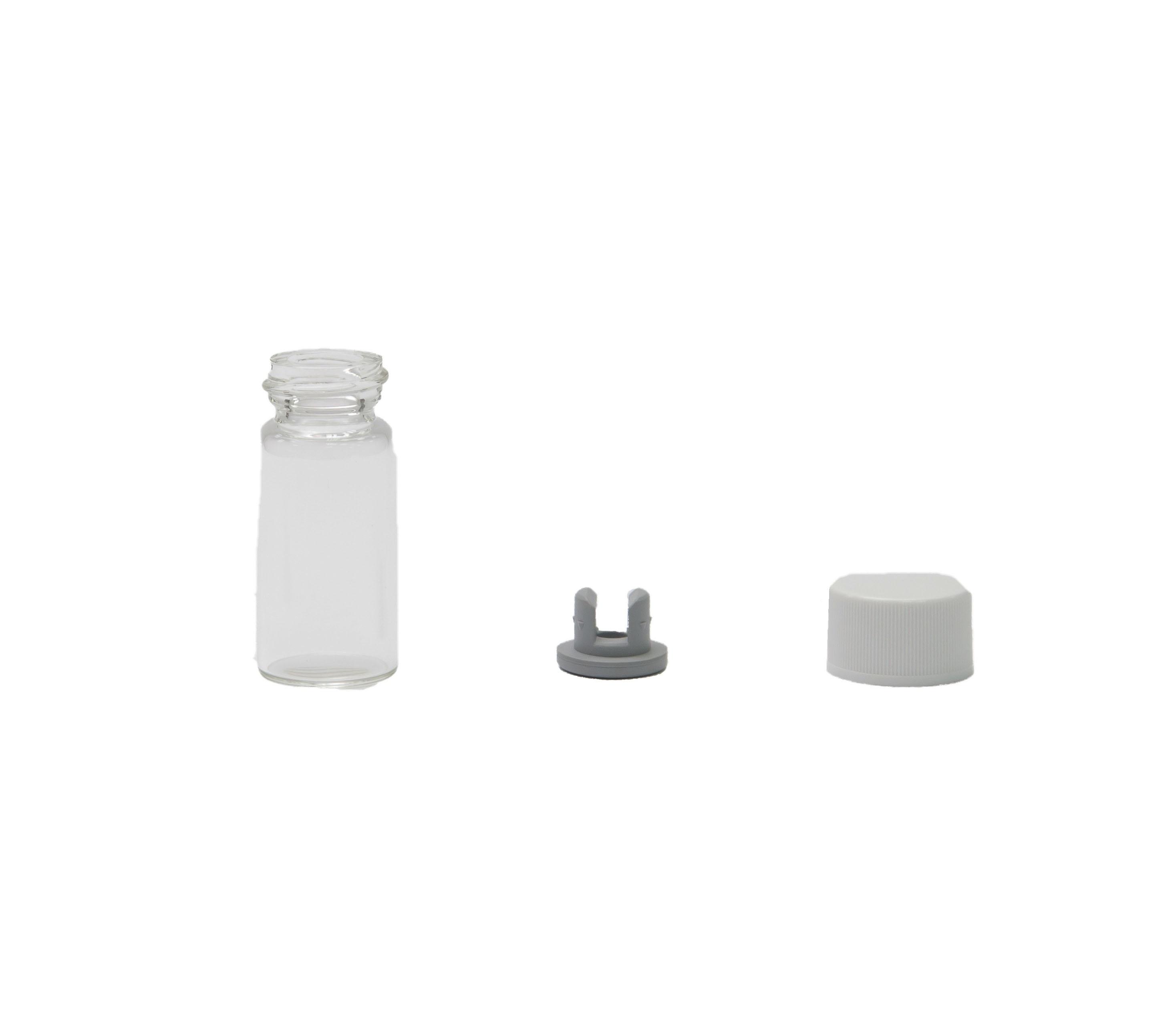 10C.C 螺旋牙西林瓶 附橡皮塞及鋁蓋產品圖-0